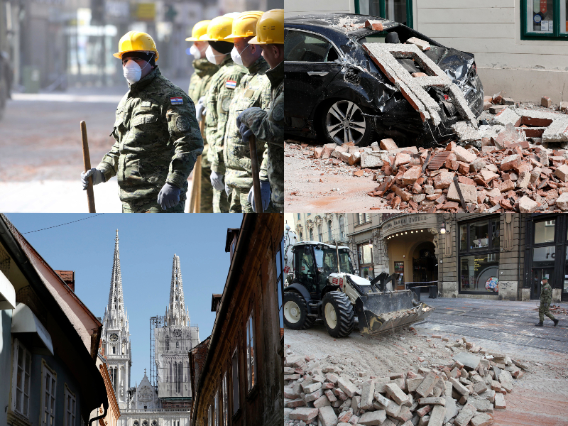 Strasan Potres U Zagrebu 17 Ozlijeđenih Dijete Kriticno Opet Se Jako Zatreslo Otvoreno Hr