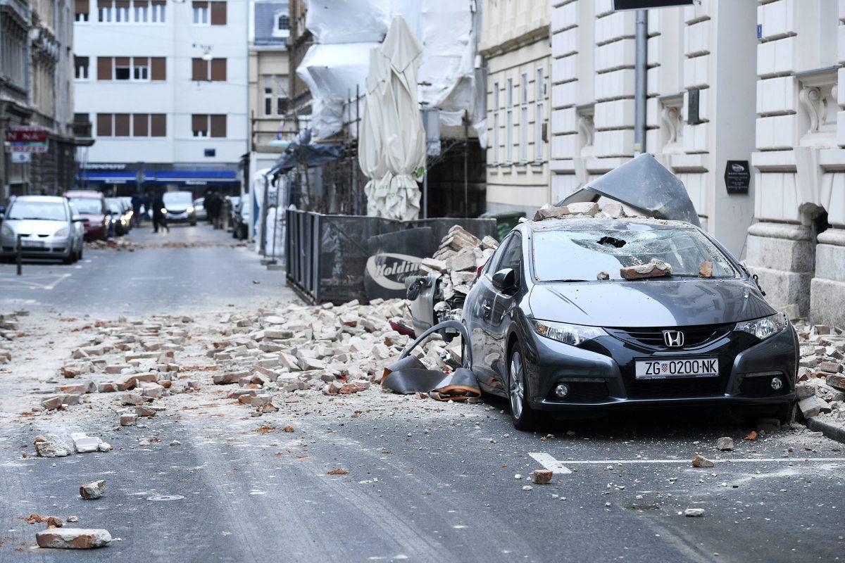 Fotogalerija Pogledajte Posljedice Potresa Koji Je U Ranim Jutarnjim Satima Pogodio Grad Zagreb Otvoreno Hr