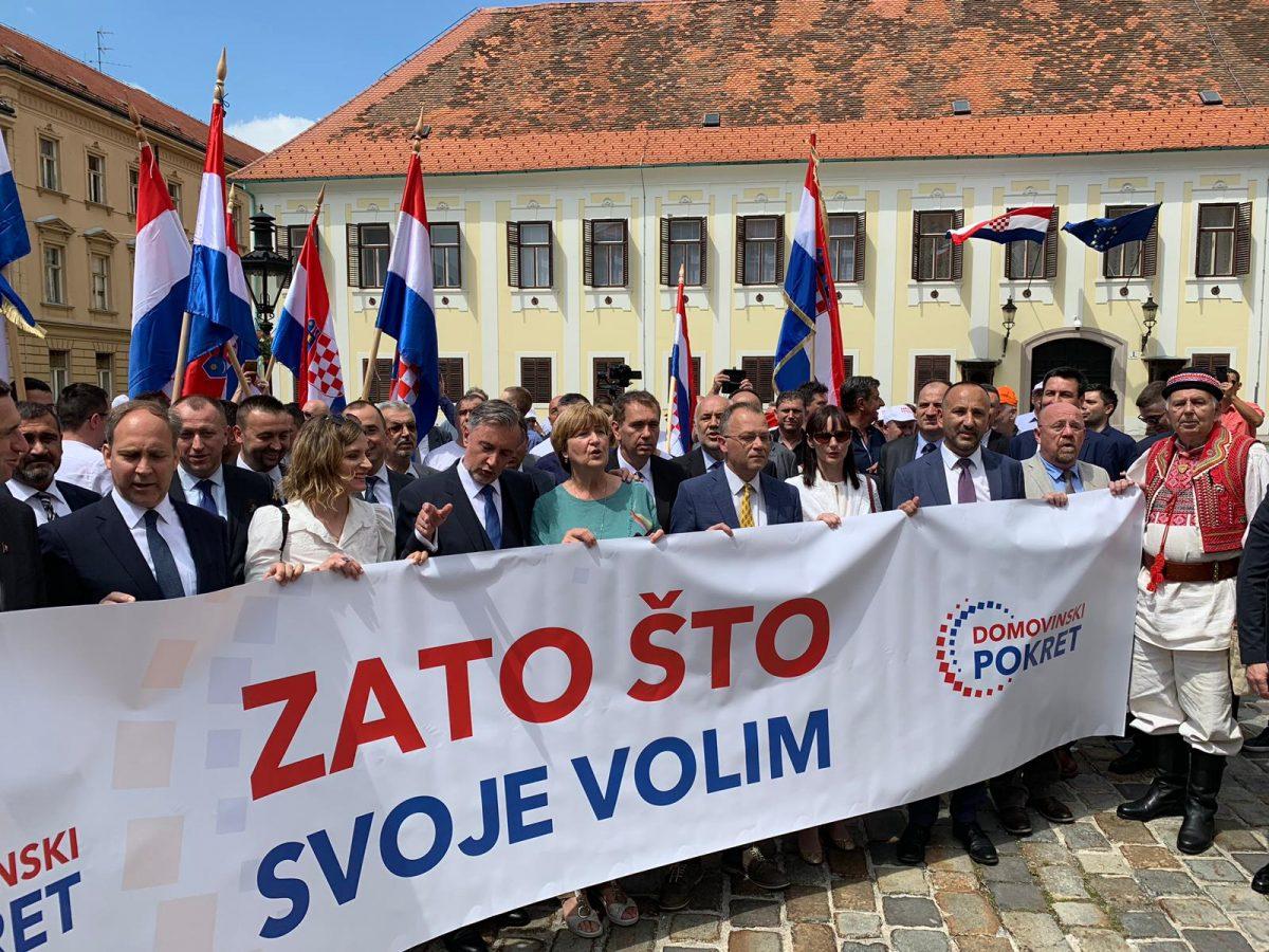 VIDEO Škoro: Domovinski pokret neće biti treća opcija nego prva i jedina |  Otvoreno.hr