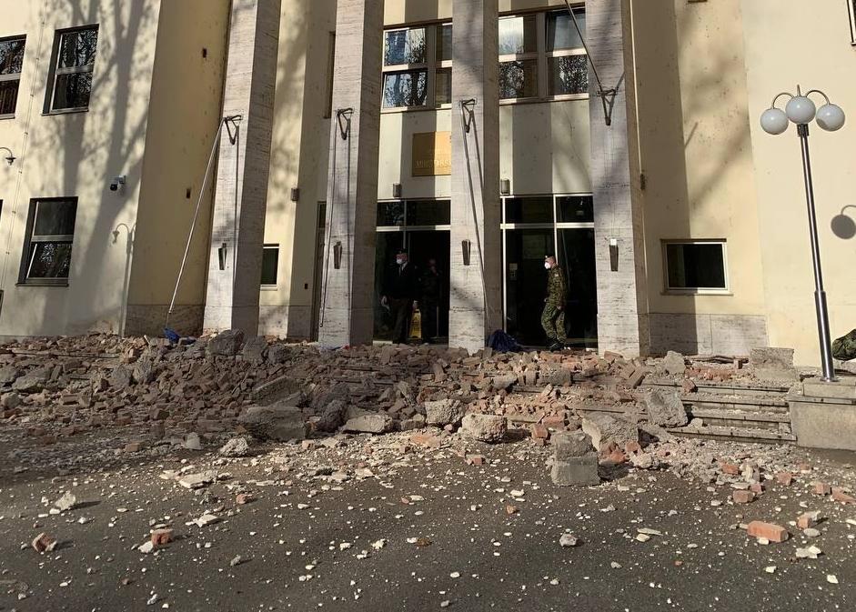 Ogromna Steta Od Potresa U Zagrebu Ostecene Zgrade Ministarstava Otvoreno Hr